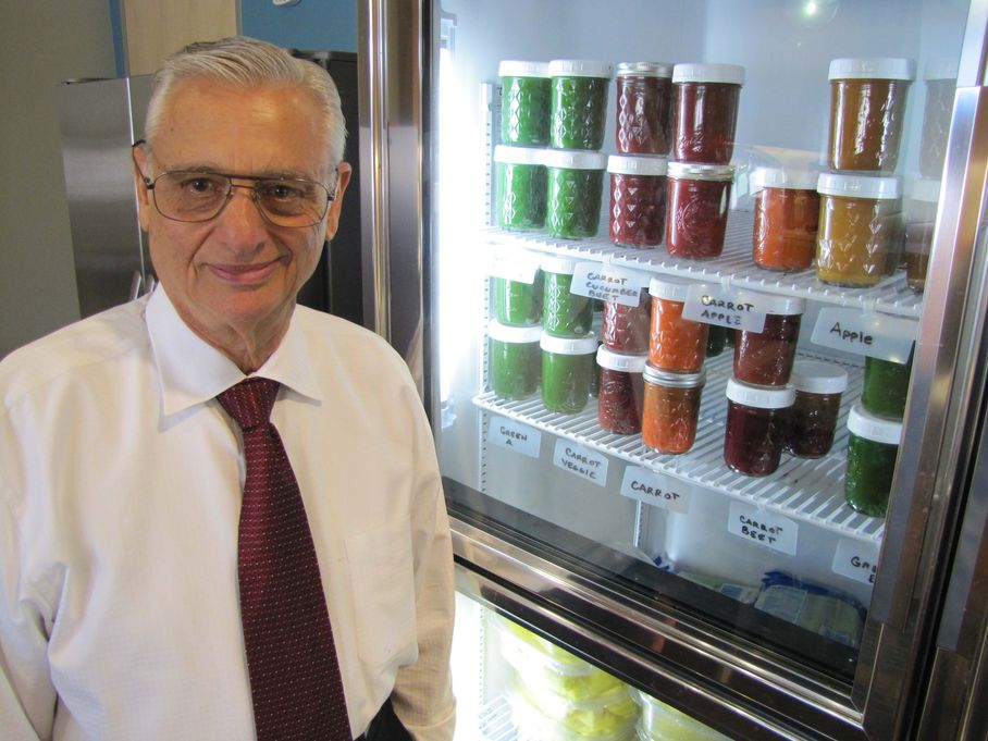 Business owner's healthful attitude adds juice to this atypical workplace    Austin-American Statesman , March 14, 2011