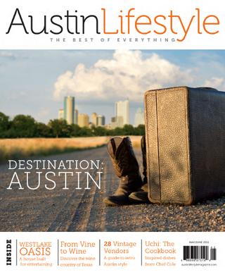 An Oasis for Entertaining    (feature on a stunning golf-centric modern house built for entertaining)    Austin Lifestyle Magazine , May/June 2011 (page 62)