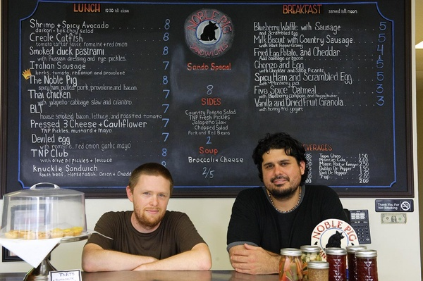 Have tongue, will travel: an interview with Noble Pig's John Bates    CultureMap Austin,  July 14, 2012