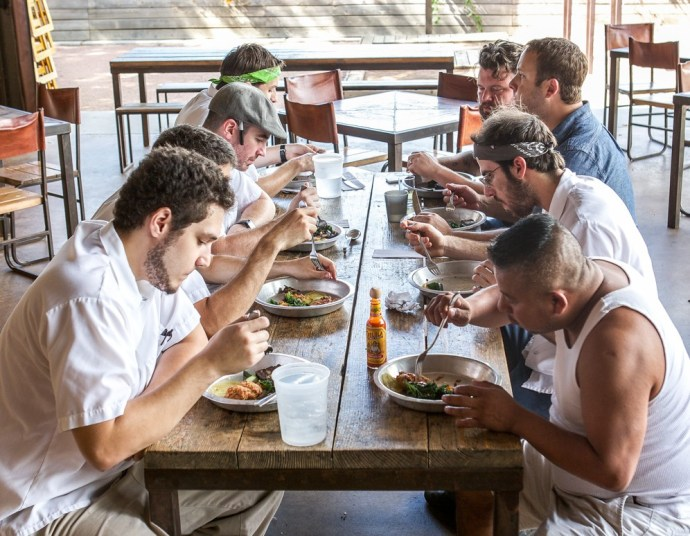 Employees Only: Scenes and Recipes from Three Austin Restaurant Family Meals    Citygram , Oct/Nov 2014