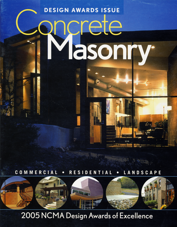 concrete masonry design awards issue 2005.jpg