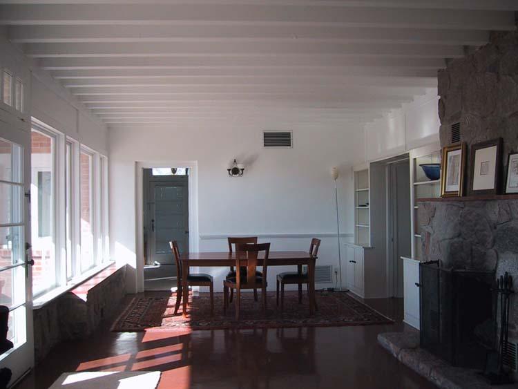 Winter Living Room Before