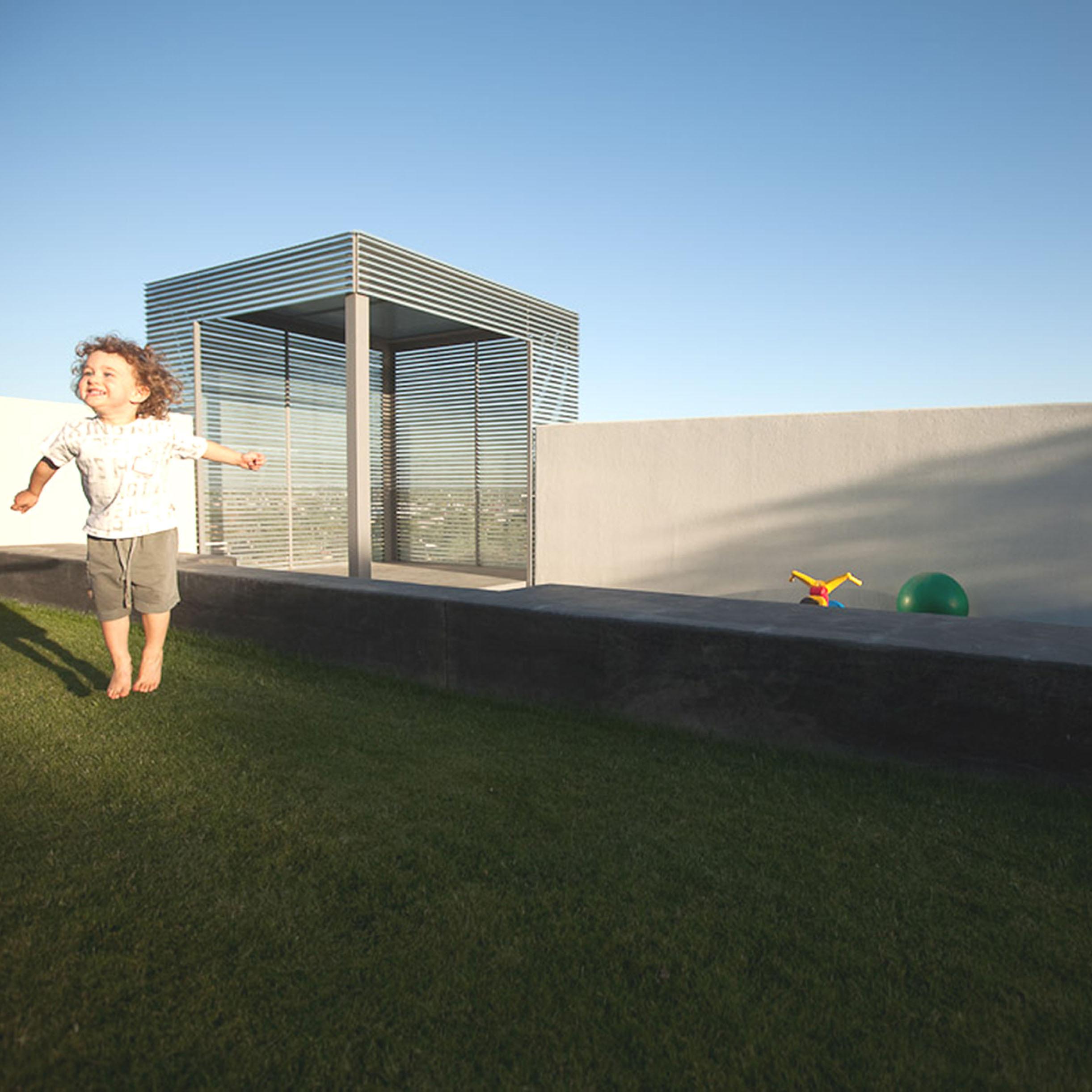 Play Yard at Winter Residence: Tucson, Arizona