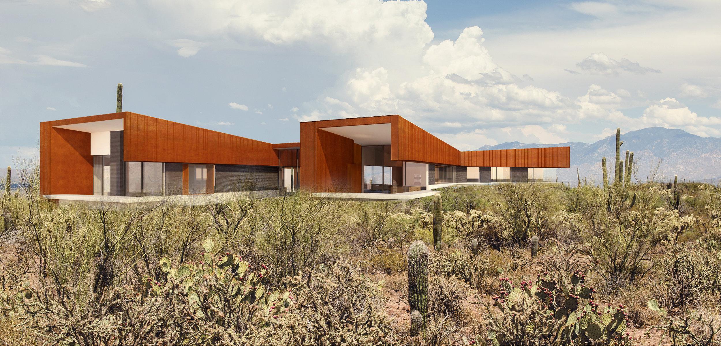 TS Falls West Residence: Tucson, Arizona