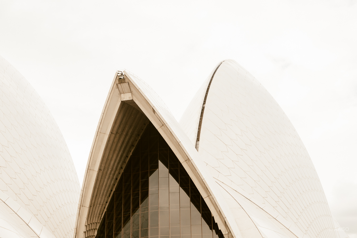 Abstract shapes, Sydney Opera