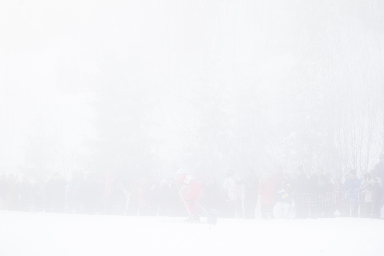 Fog, 4x5km Relay, Ladies, FIS Nordic Ski World Championships