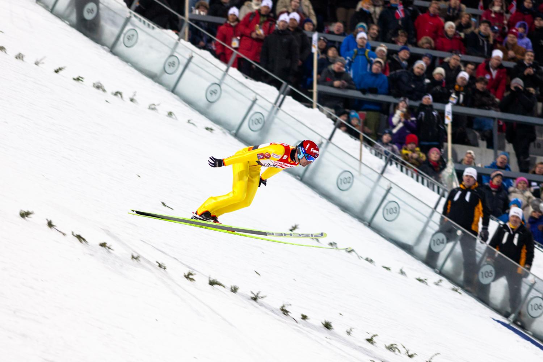 Janne Ahonen, Finland. Ski Jumping, Large Hill Holmenkollen