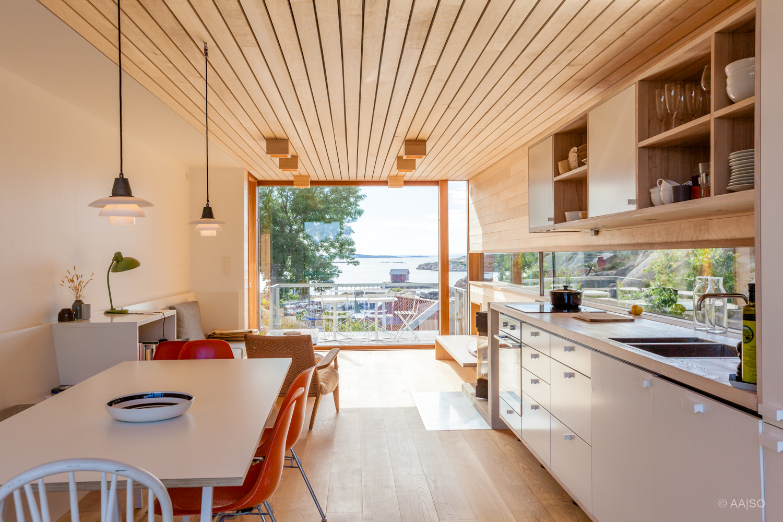 Hytte Papperhavn - Stein Halvorsen Arkitekter
