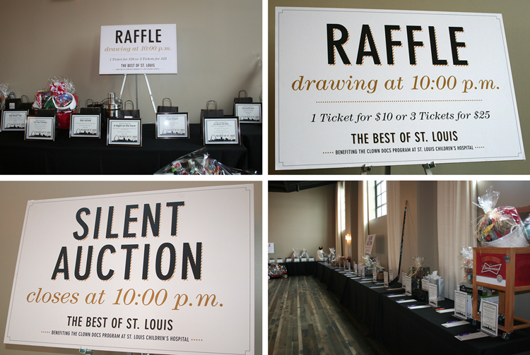 There were SO many great items at the Silent Auction and Raffle tables. Unfortunately I didn't win anything...maybe next year!
