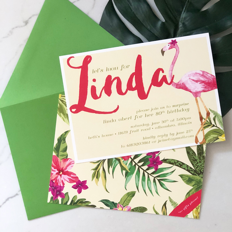 9. A Luau for Linda: I had so much fun getting together with my family to throw my Grandma Linda's 80th surprise birthday party. Cheers to 80 more!