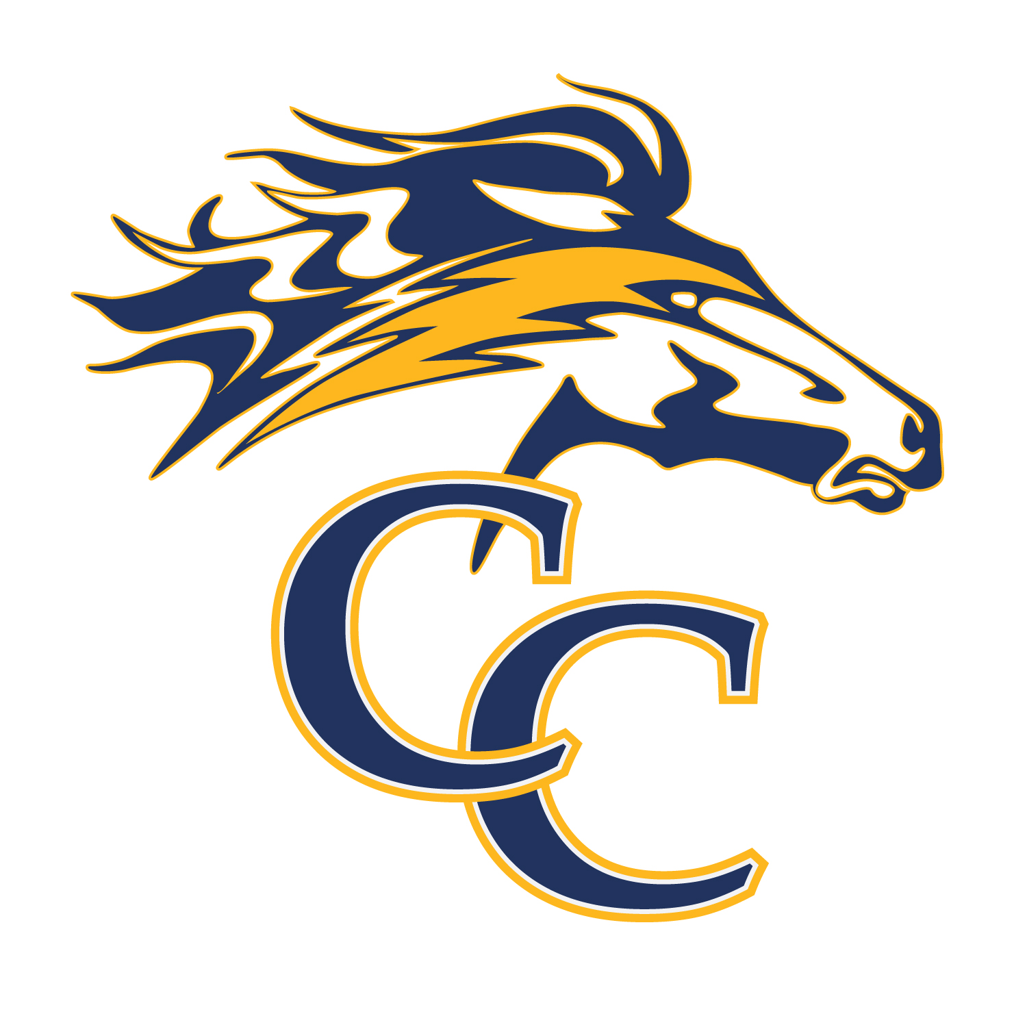 Team logo (draft) for the Churchville Chargers