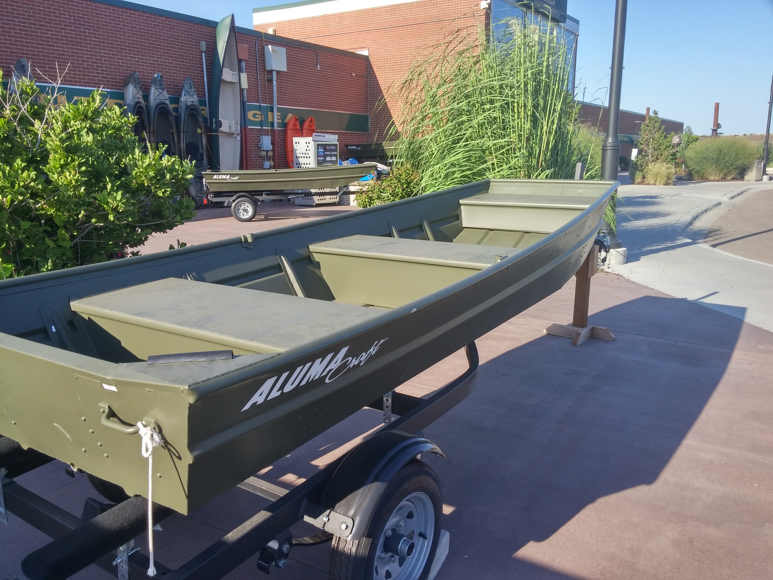 This was the subject of much discussion, as there have been various ideas floated as to having a truck bed cap, or cover, or some such thing to protect the stuff we have in there.  One idea discussed was using an upside down aluminum boat, with it's prow extending up over the cab, and the back portion joining some sidewalls built up from the truck bed. I did my best to stay out of the fray, my skepticism coming in waves that threatened to swamp the whole thing before anyone even looked at the boat's price tag.