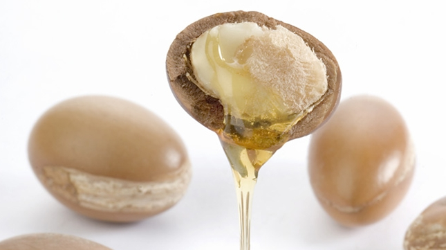 From the Argan nut:liquid gold Argan Oil. Scroll down to where you'll find other Argan fans.