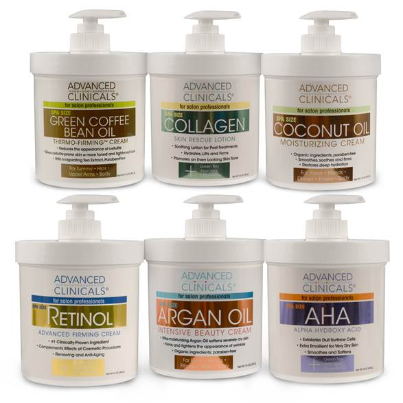 Spa Size moisturizers are great for all-over body care. #firmskin #smoothskin #spasize