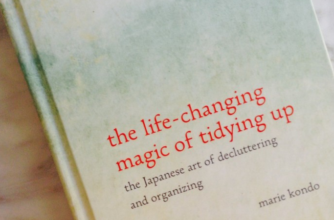 The Life-Changing Magic of Tidying Up by Marie Kondo #tidyup2016 #letgo