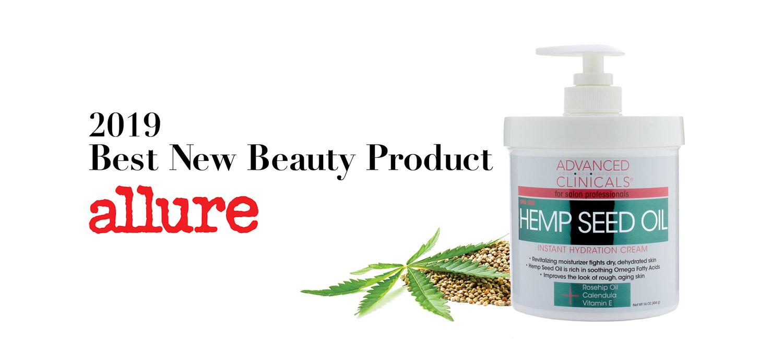 Hemp Seed Oil Instant Hydration Cream 16oz — Advanced Clinicals