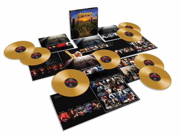 Saxon Vinyl Hoard box
