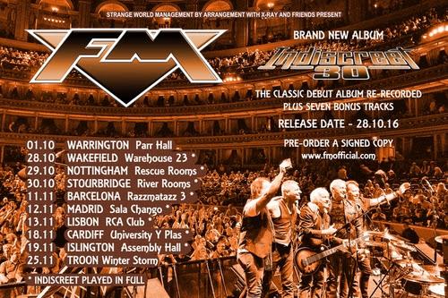 FM Tour Dates Poster