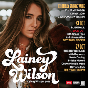 Lainey Wilson To Make Uk Debut At Country Music Week Red