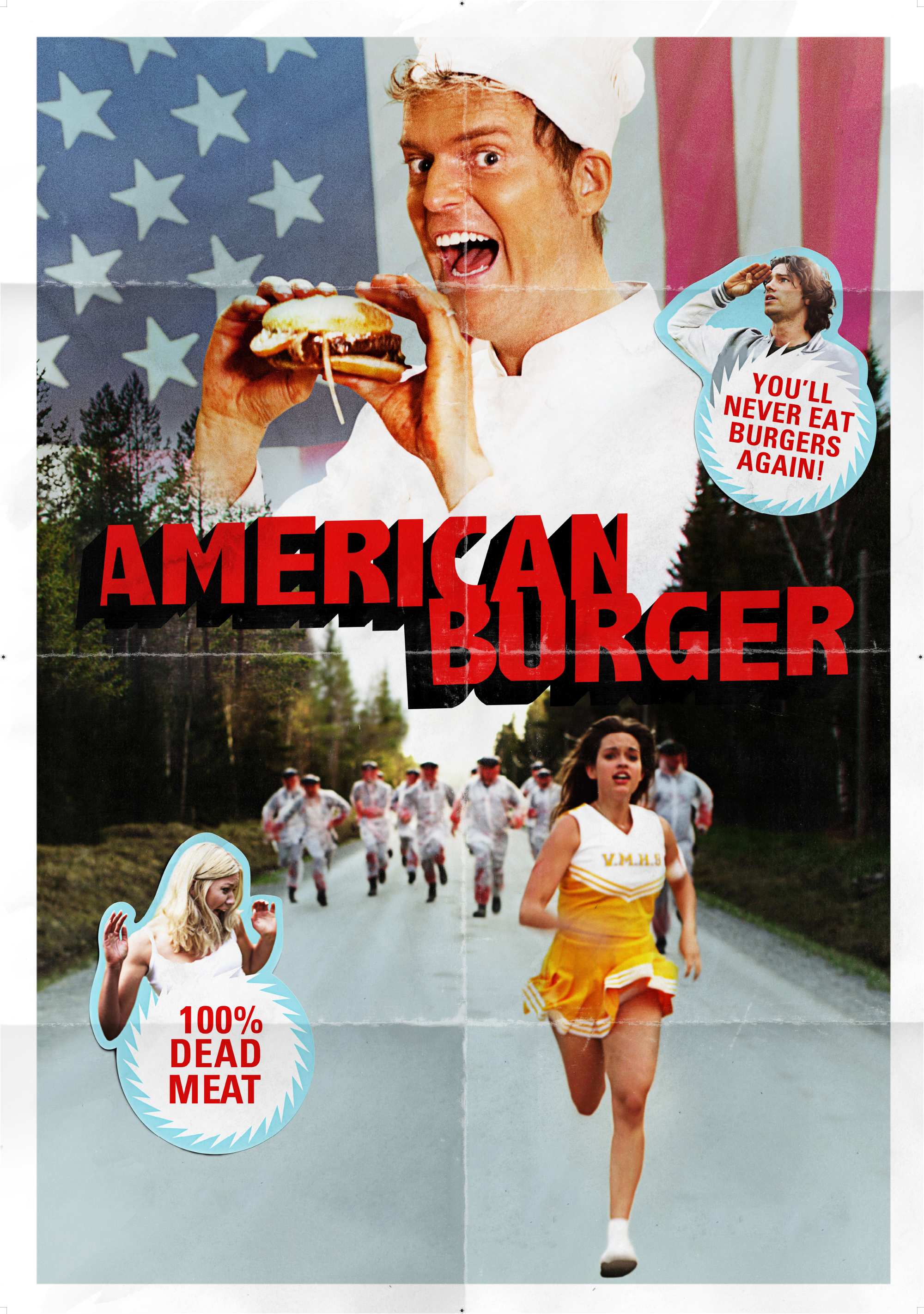 American Burger, Horror | Comedy, 2014