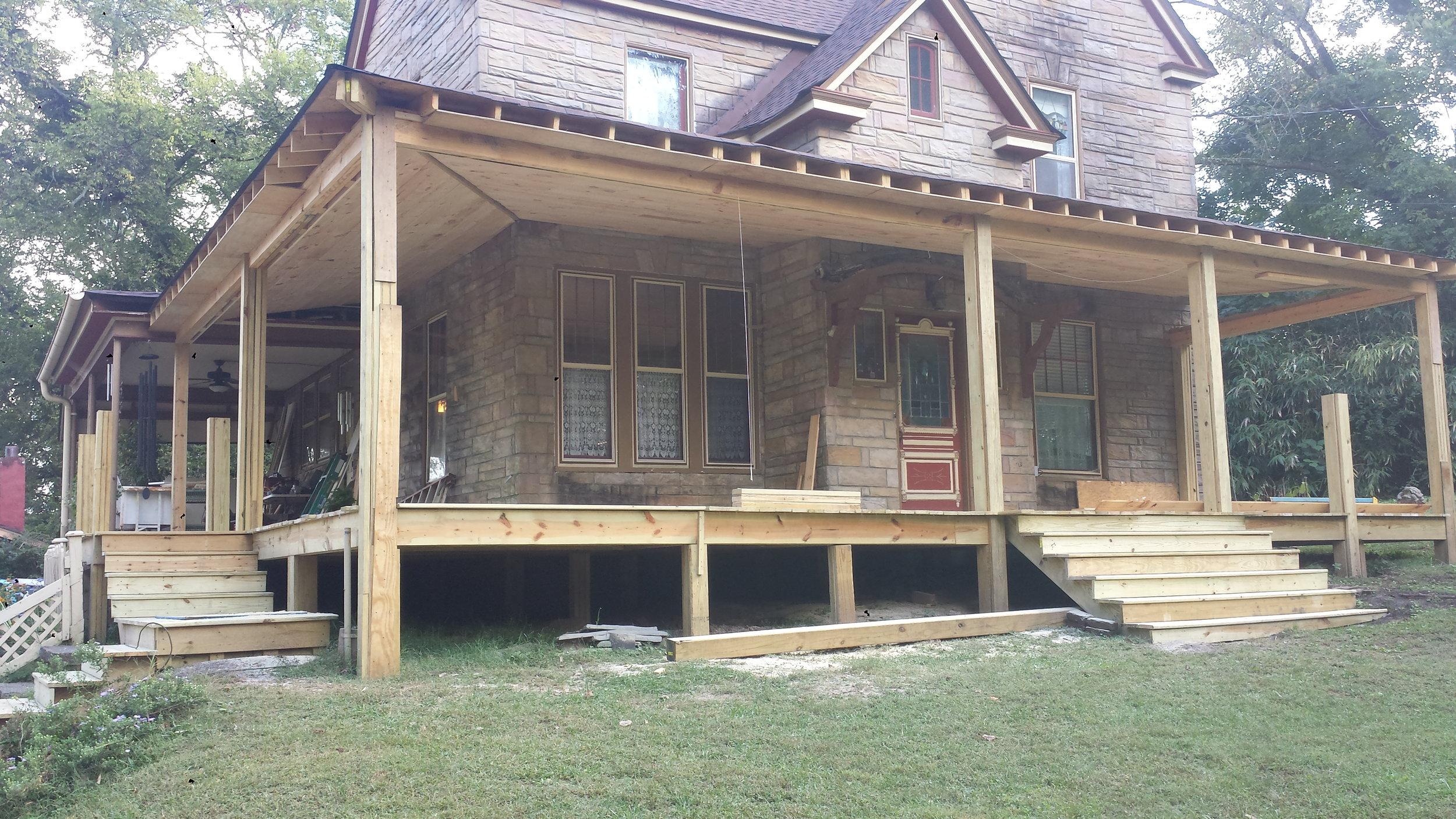 Porch Addition, Missionary Ridge