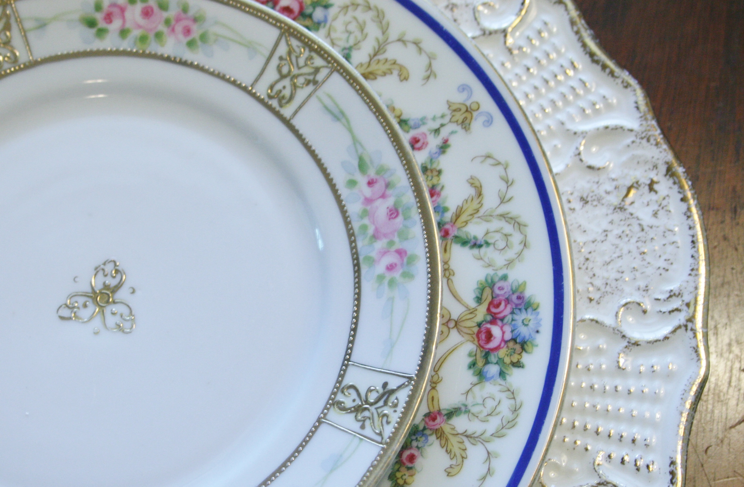Mismatched china rentals