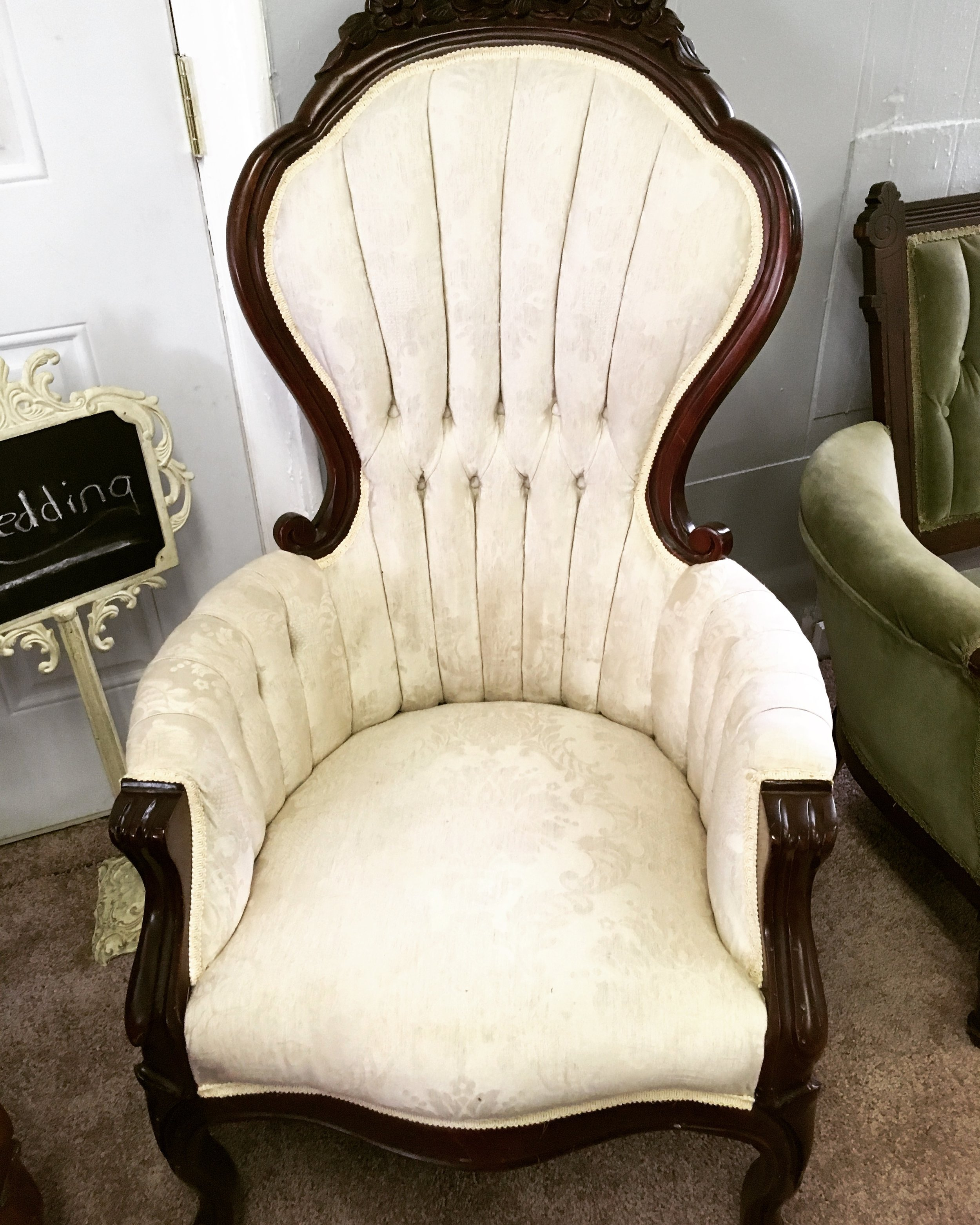 White King and Queen Chairs