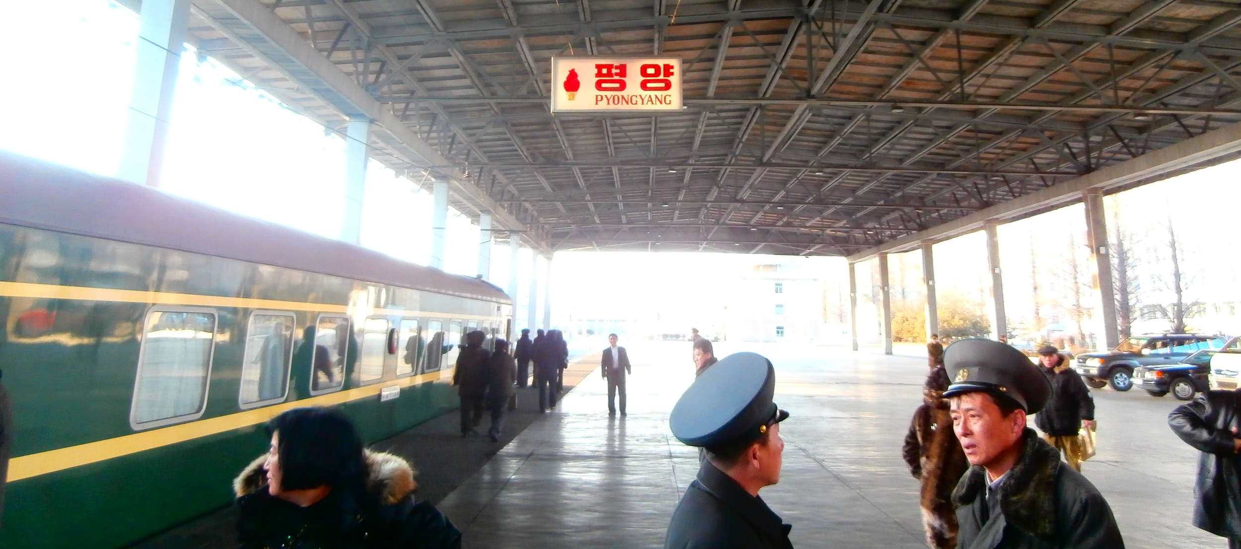 Pyongyang Station, North Korea