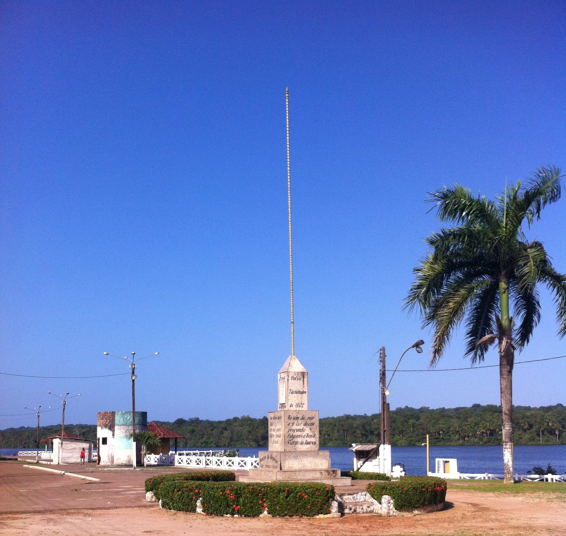 Oyqpoque, on the Brazilian/French Guyana Border