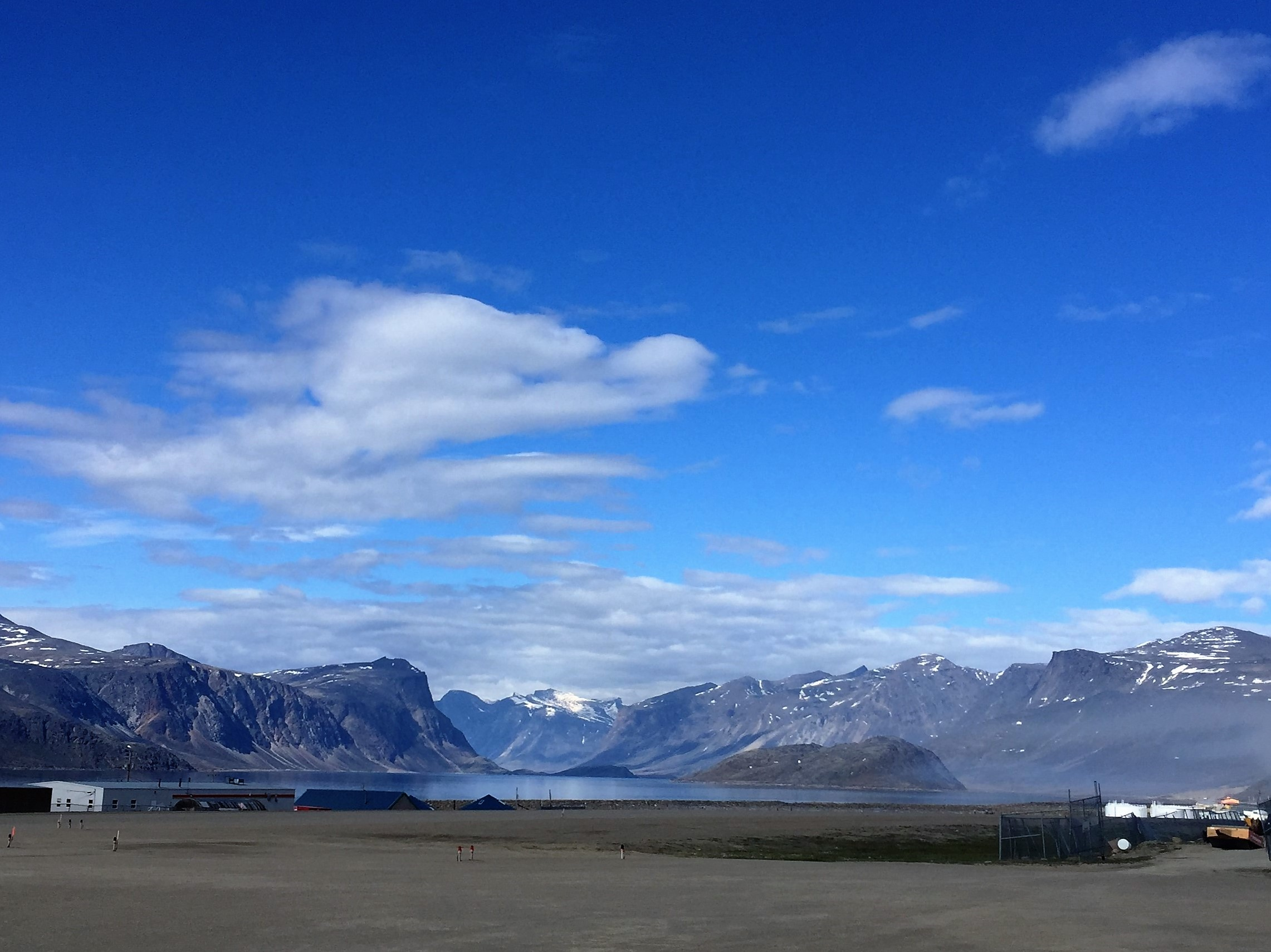 The Auyuittuq National Park at Pangnirtung, its southern Gateway