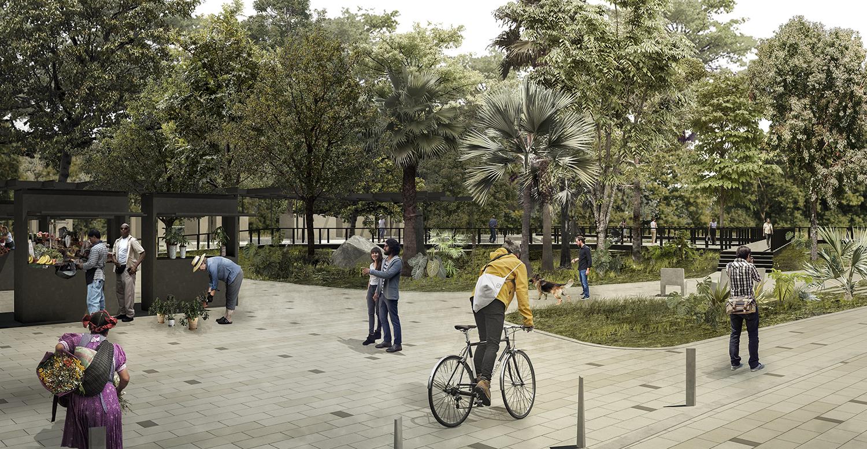 Revitalización del Espacio Público de la Tebaida    La Tebaida, Colombia (2018)