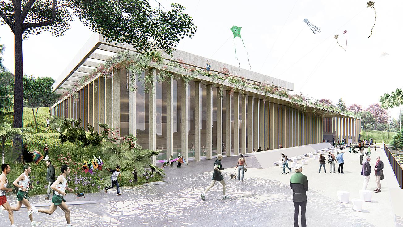 Centro Cultural, Recreativo y Deportivo El Indio    Bogotá, Colombia (2018)