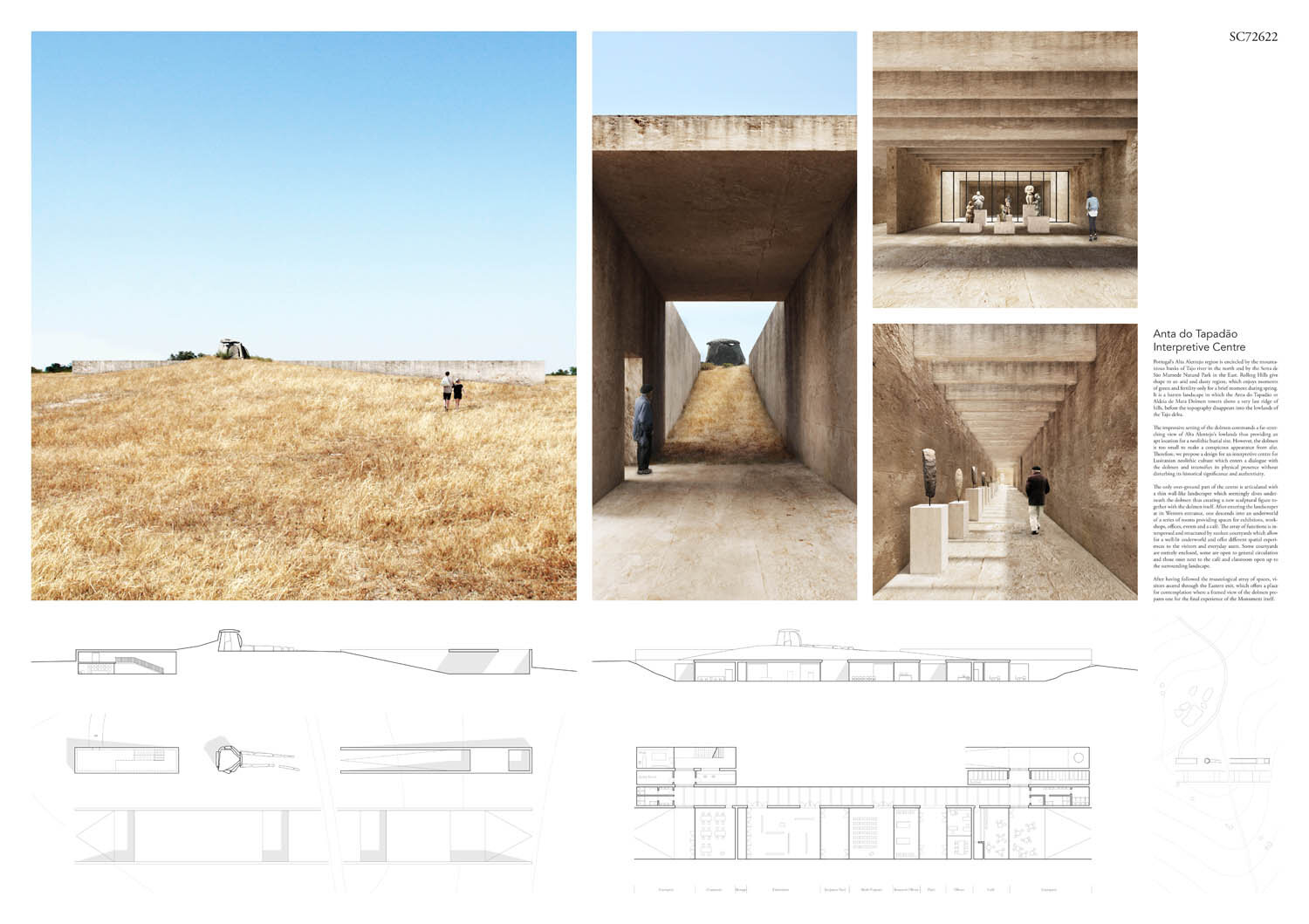 Anta do Tapadao Interpretive Centre winning proposal