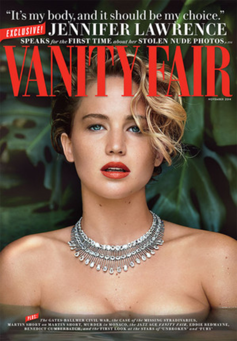 J-Law the Cover of Vogue