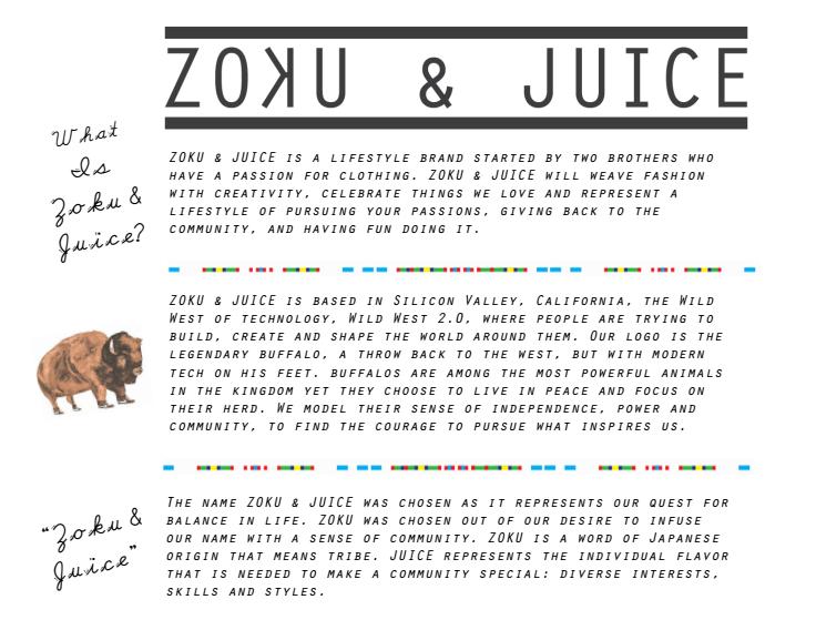 about zoku & juice