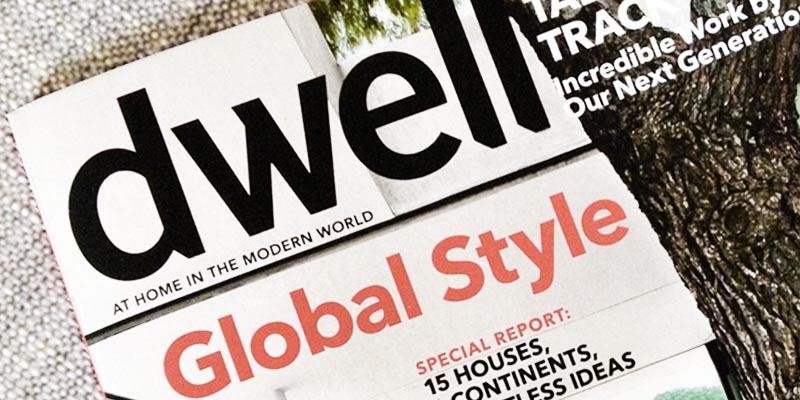 Dwell magazine cover May 2013
