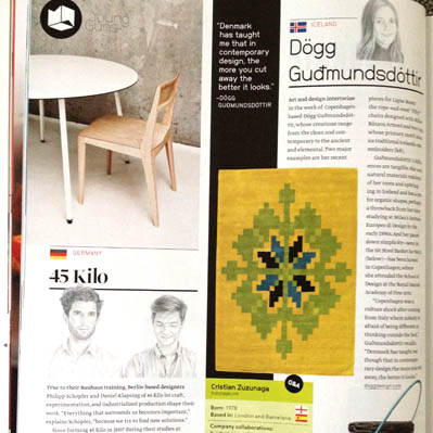 Dwell article May 2013