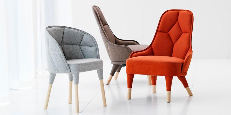 Emily chair by Gärsnäs photo Lennart Durhead