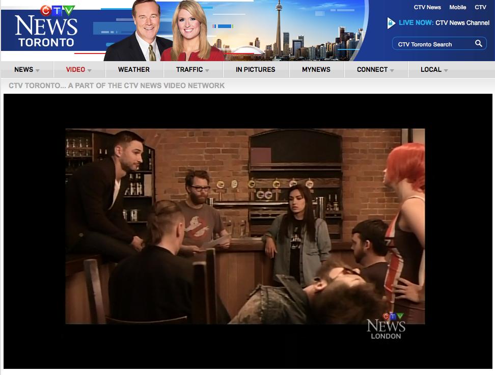 CTV - Behind the Scenes
