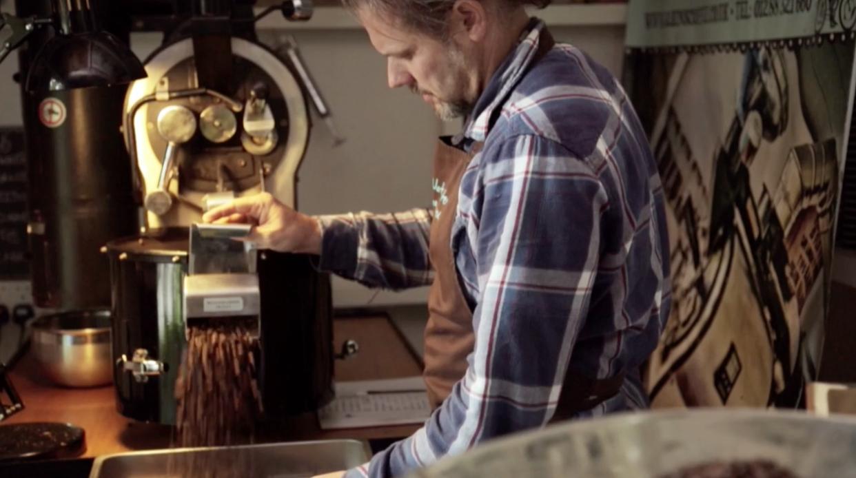 Sabins Coffee      ARTISAN COFFEE ROASTERS