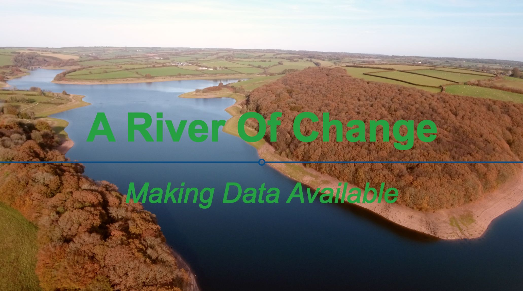 ENVIRONMENT AGENCY     A RIVER OF CHANGE