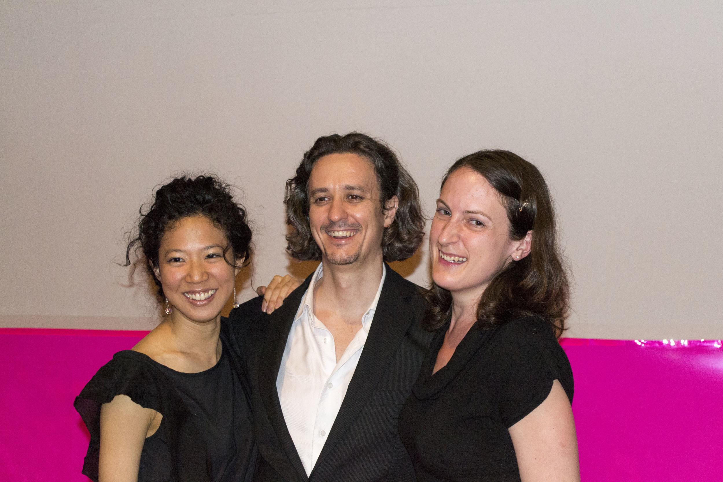 With conductor, Jorge Parodi -  L'incoronazione di Poppea , 2013