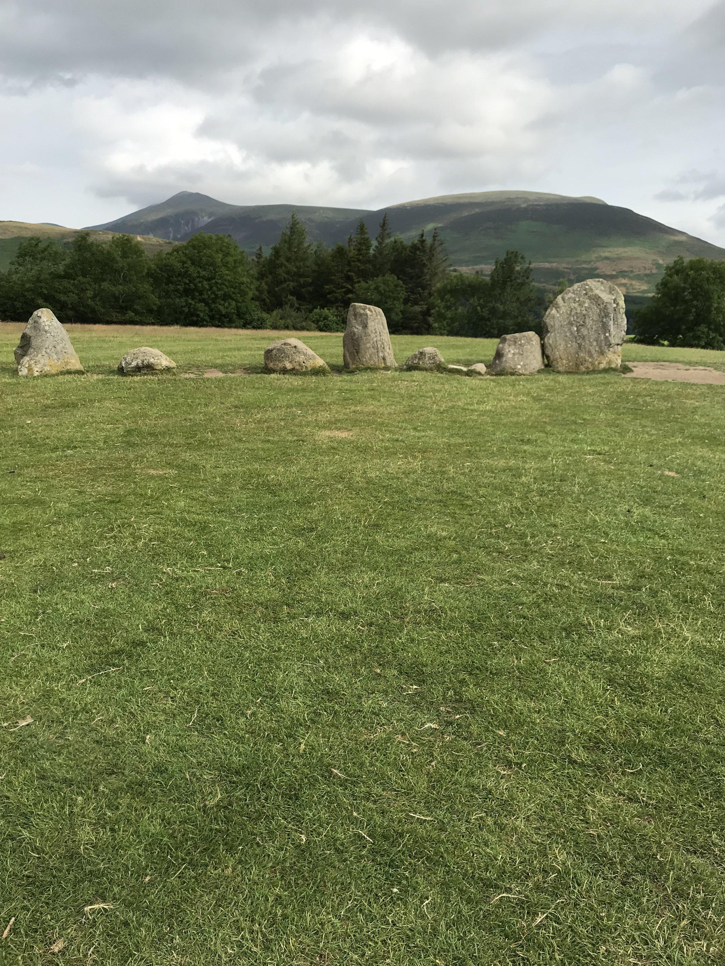 Castlerigg Stone Circle, UK -