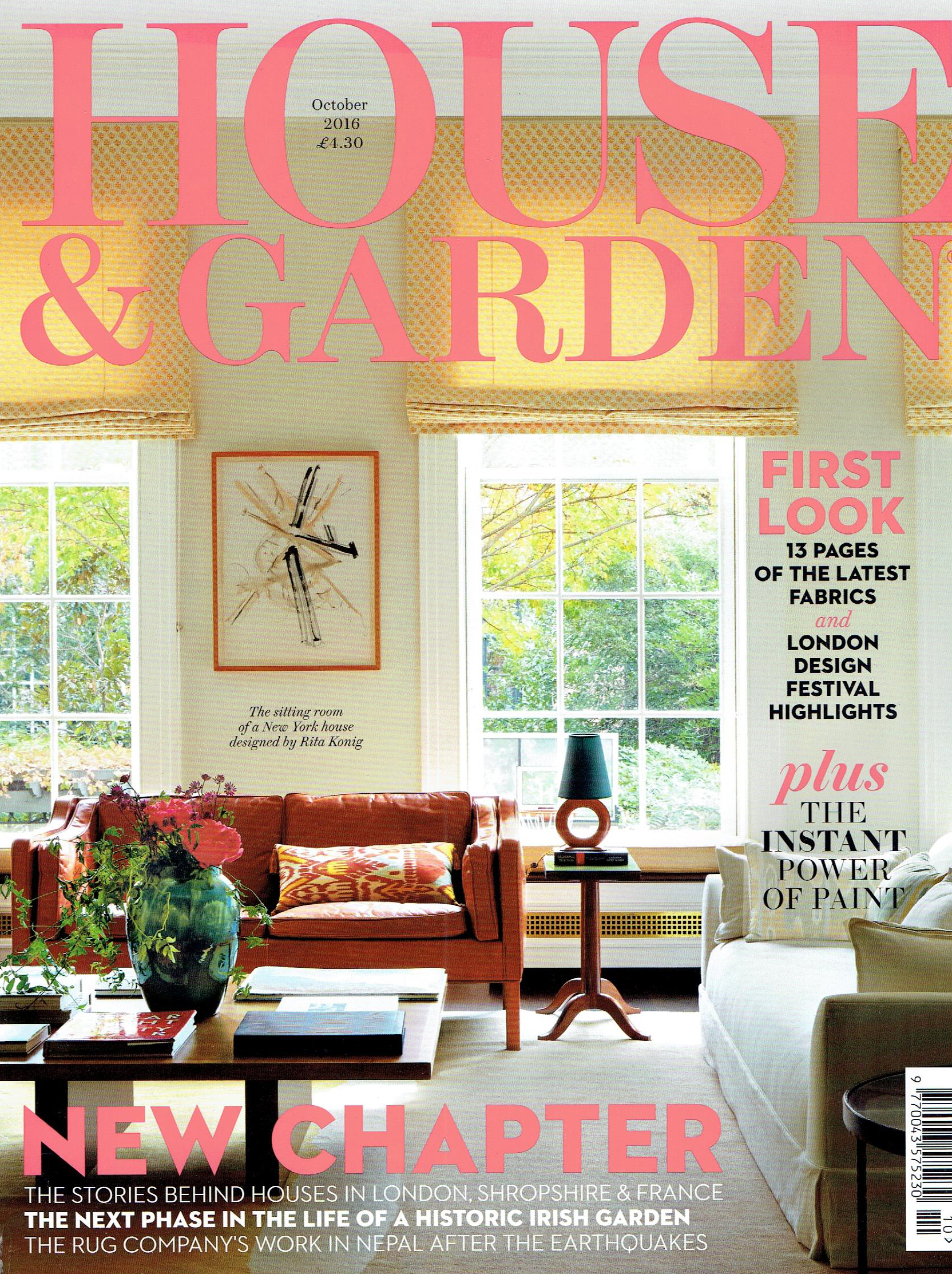 House and Garden October 2016