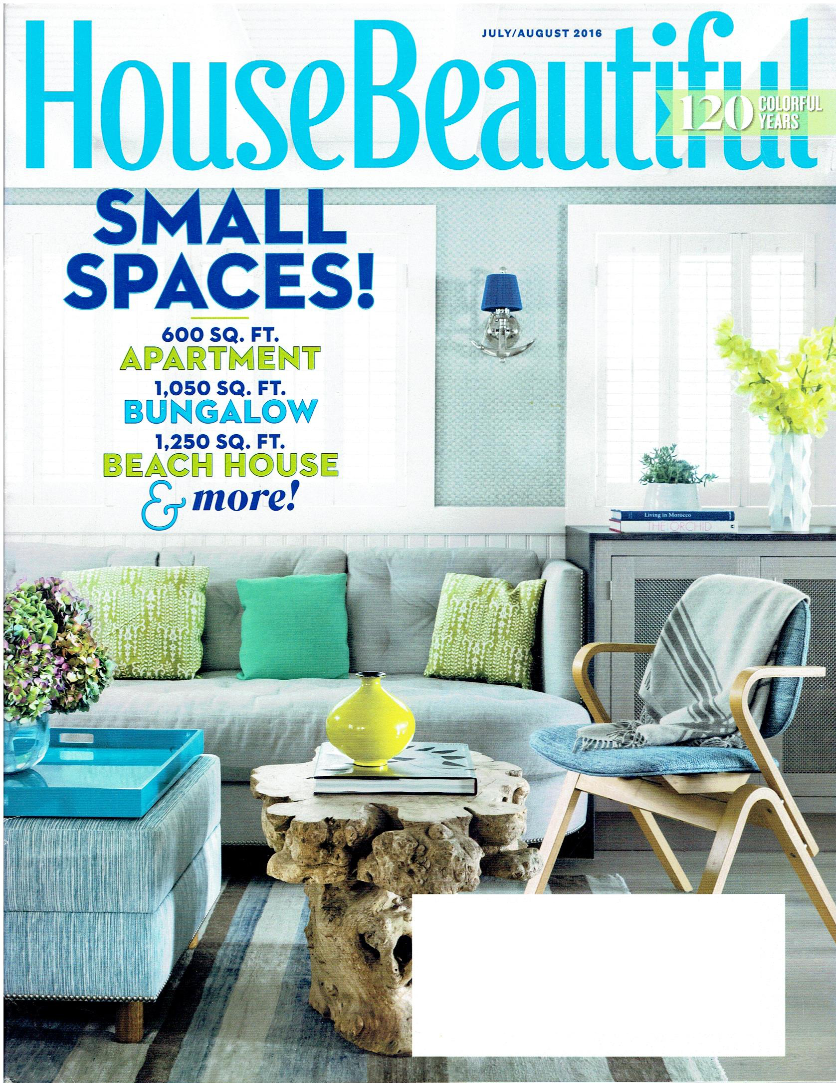 House Beautiful July/August 2016