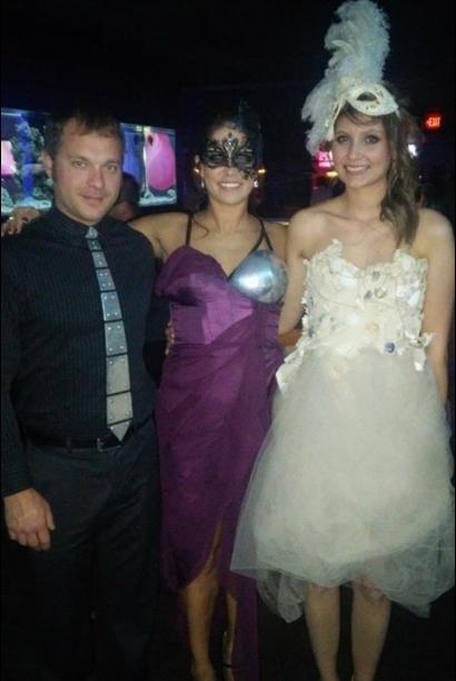 Ron, Ana and Kari