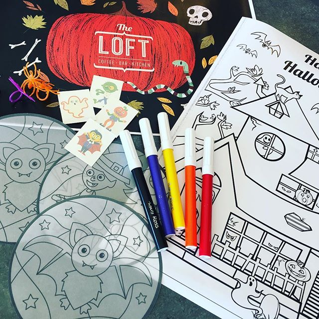 Bring your tribe to The Loft this half-term for our hair-raising Halloween themed fun! As well as spooky specials on the menu we have a selection of free activities for kids, including haunted house colouring, temporary tattoos an stained glass window effect paper projects! 🎨🖍 🎃👻 running until Sunday 28th Oct... #theloftarundel #arundel #halfterm #halloween #kids #activities #fun #family #colouring #temptats #spooky #hauntedhouse #pumpkins #projects