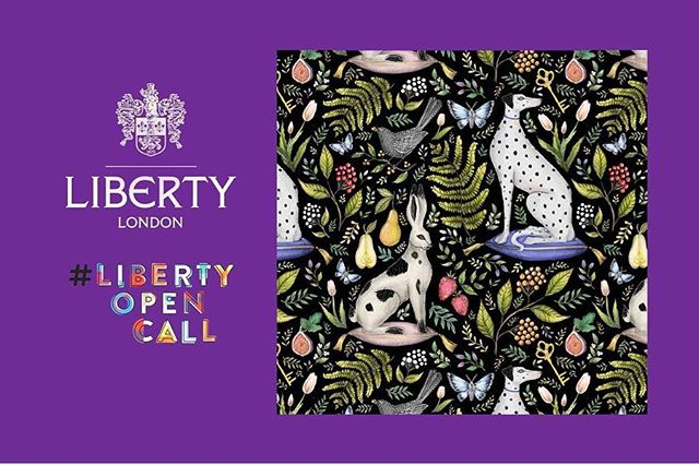 Our very own, amazingly talented @catherinerowedesigns has been selected as one of 12 finalists (out of 5.1k entries!) for @libertylondon's open call competition to have her design printed as an iconic Liberty fabric, and now she needs your help! ✨🍓🌿🍐 We know for a fact that winning it would absolutely make her Christmas, so please VOTE! (Link in bio) Swipe to see a selection of some of her other gorgeous new products. 😍🎁✨#libertyopencall #libertyfabric #libertylondon #finalist #catherinerowedesigns #textiledesign #surfacepatterndesign #dalmatians #rabbits #staffordshirepottery