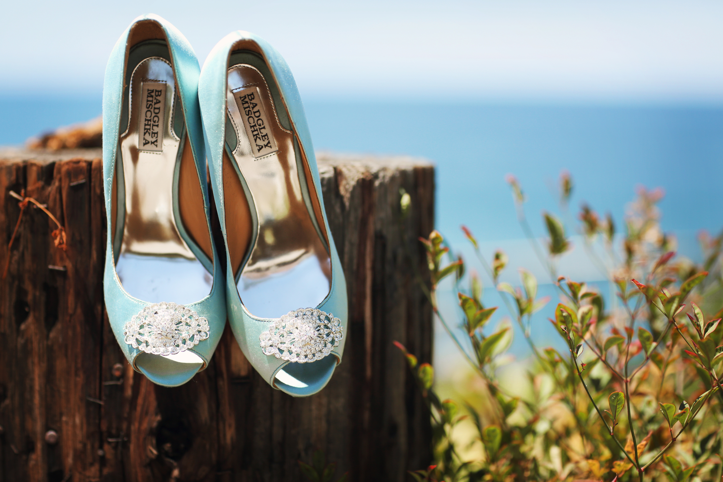 Badgley Mischka Bridal Heels - The Overwhelmed Bride Wedding Blog + Bridal Lifestyle
