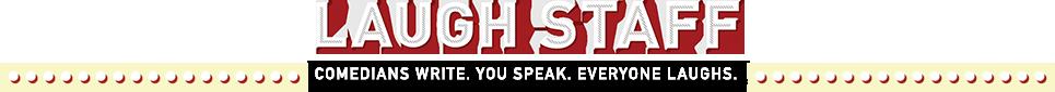 Laugh Staff Logo // The Overwhelmed Bride Bridal Lifestyle + Wedding Blog